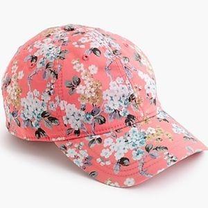 J. Crew Liberty of London Floral Baseball Cap